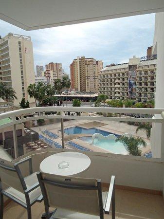 Riviera Beachotel : View from room 402