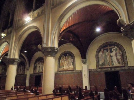 Jakarta Cathedral: The beautiful paintings (of the Stations of the Cross)