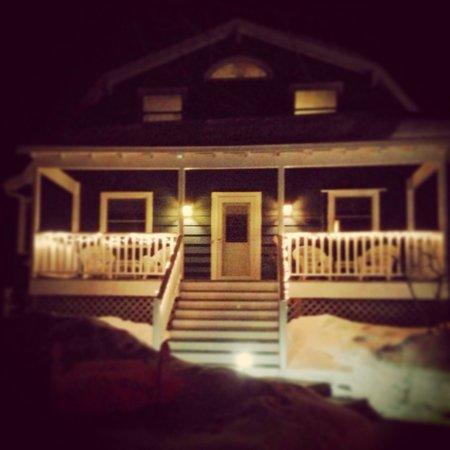 Cottonwood Inn: Perfect winter night