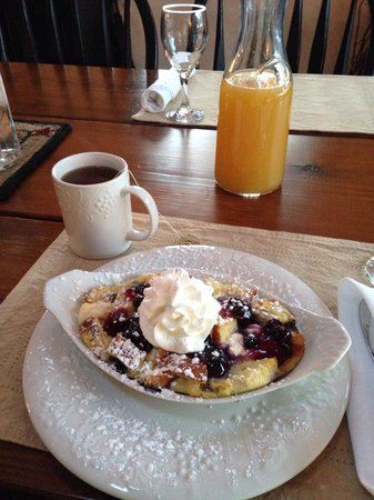 Cottonwood Inn : Great way to start the day!