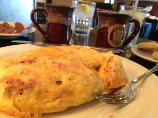 Original Pancake House: Irish Omelet -- or as they call it Irish Omelette