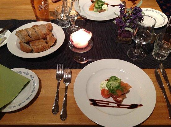 Skinnarbu Nasjonalparkhotell: Quality dining