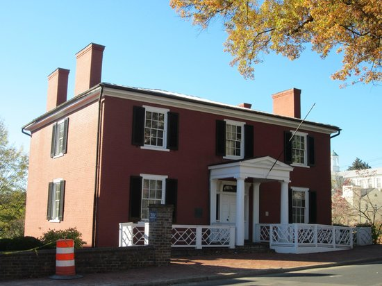 Woodrow Wilson Presidential Library and Museum: Wilson birthplace