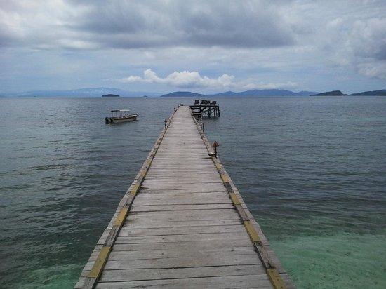 Raja Ampat Dive Resort: jetty