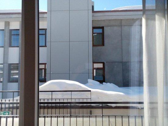 Morosani Schweizerhof Davos : Blick aus Suite Promenade Nr. 235