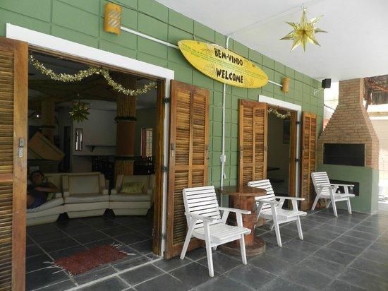 Pousada Tribo Ubatuba Hostel: Entrada