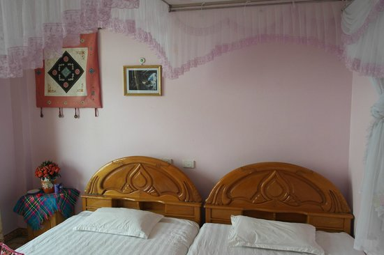 Luong Thuy Family Guesthouse: A sweet simple beautiful welcoming room