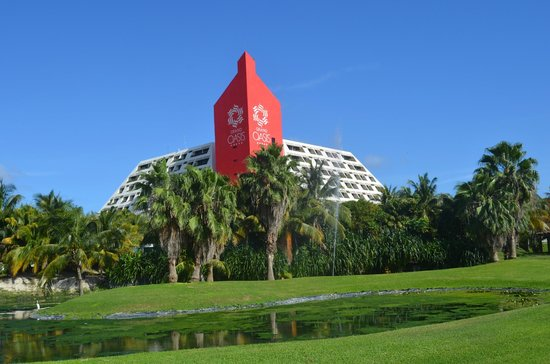 Grand Oasis Cancun : Hotellet