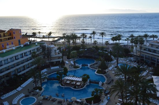 H10 Conquistador: View from our balcony