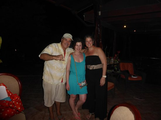 Hotel Luamey: Me with Luis and Miriam