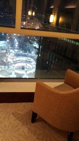 The Kaaba View From My Room Floor 23 Foto Makkah Clock Royal Tower A Fairmont Hotel Mekkah Tripadvisor