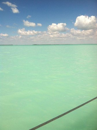 Key Lime Sailing Club and Cottages : View from boat