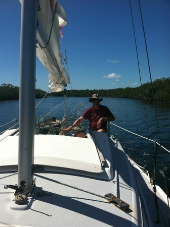 Key Lime Sailing Club and Cottages: Heading to the Mangroves