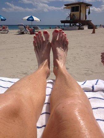 Hollywood Beach Marriott: fun in the sun!