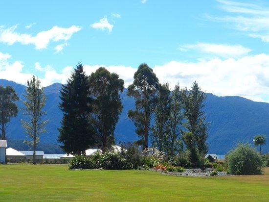 Te Anau Lodge: Amazing setting