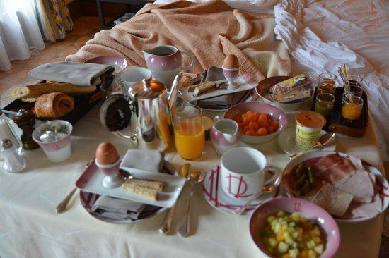 Le Relais Bernard Loiseau: Petit-déjeuner