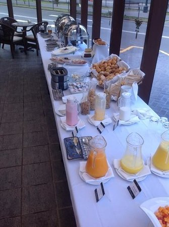 Thunderbird Hotel J. Pardo: breakfast spread is pretty good