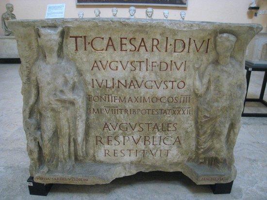 Museo della Civilta Romana: Remarkable piece