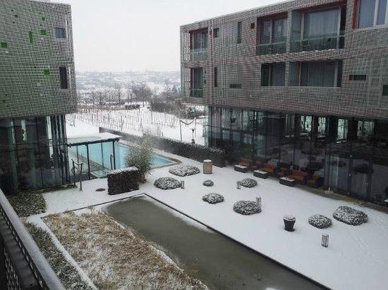 Loisium Wine & Spa Resort Langenlois : Blick vom Balkon