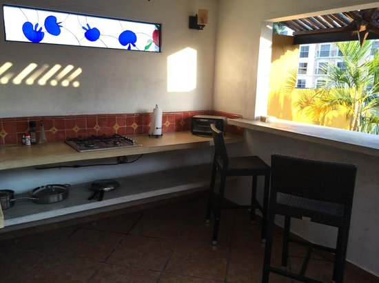Luz En Yucatan: Penthouse Suite Outdoor Kitchen
