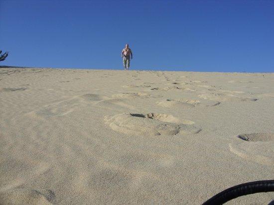 Corralejo Dunes: Me on the sand dunes