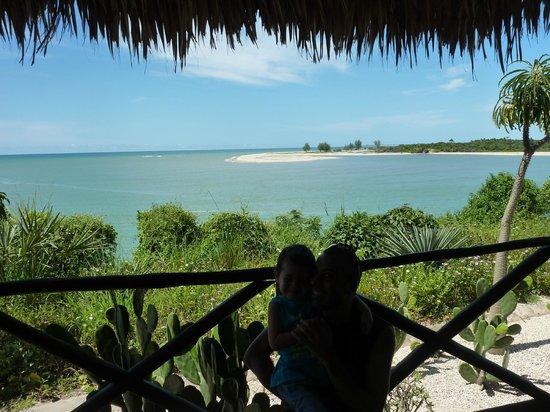 Antsanitia Resort: Vue de notre suite