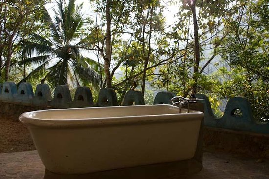 Kandy Samadhi Centre: View from a bathroom