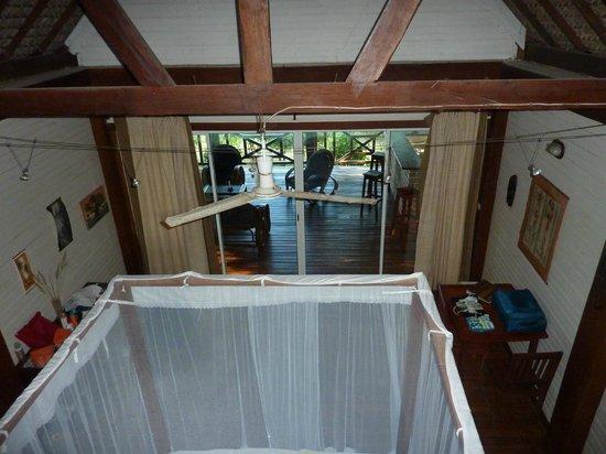 Antsanitia Resort: Vue depuis la mezzanine