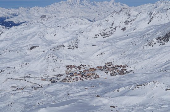 Hotel Club mmv Val Thorens - Les Arolles: Vista do Village