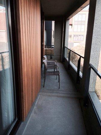 Van der Valk Hotel Heerlen : Privé balkon in Wellbeing suite