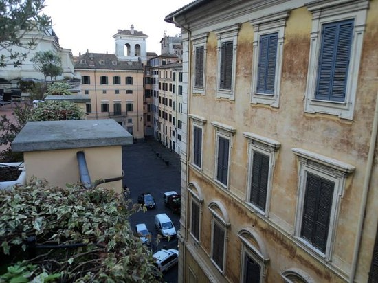 Albergo Cesari : View from the restaurant
