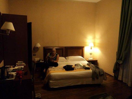 Albergo Cesari: View of the room