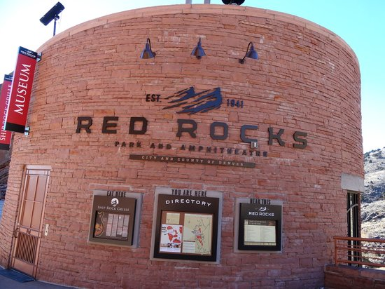 Red Rocks Park and Amphitheatre : Red Rocks!!