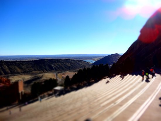 Red Rocks Park and Amphitheatre: Red Rocks view