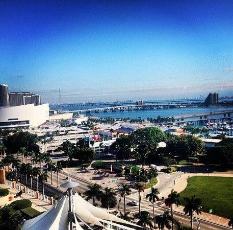 YVE Hotel Miami: vista de mi habitacion