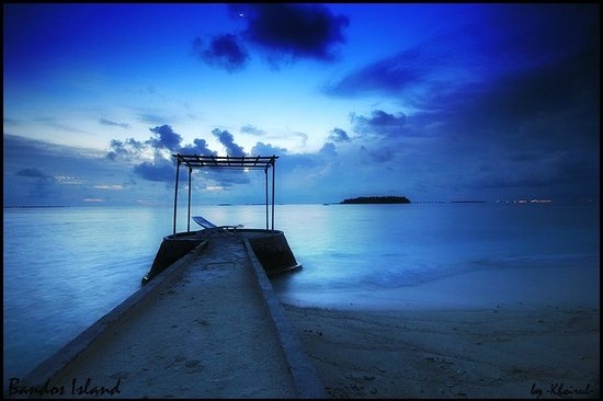 Bandos Maldives: This was taken early morning