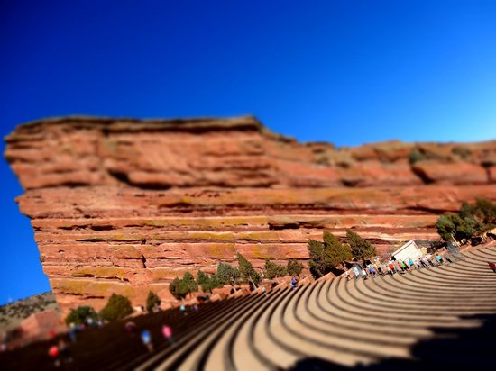 Red Rocks Park and Amphitheatre : Red Rocks view