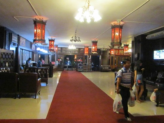 Sirinart Garden Hotel: The main lobby