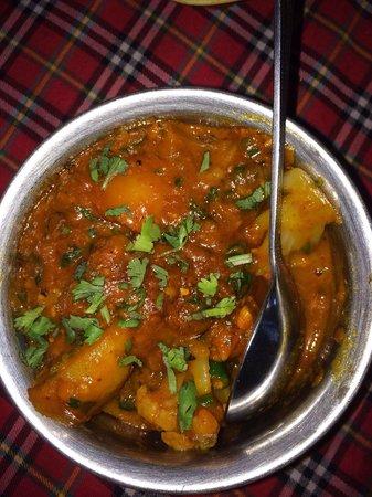 Rasoi Restaurant: Groentecurry met Indiase kruiden