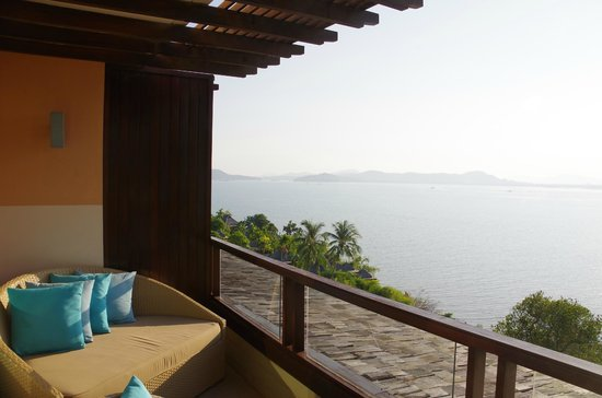 The Westin Siray Bay Resort & Spa Phuket: View from our balcony