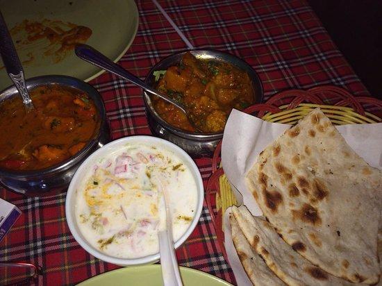 Rasoi Restaurant: Meer dan genoeg voor 2...Riante porties!