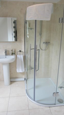 Hermitage Court Farm: Shower & Bathroom