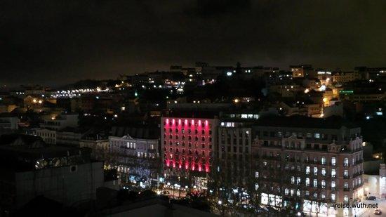Hotel NH Collection Lisboa Liberdade : Aussicht von der Dachterrasse