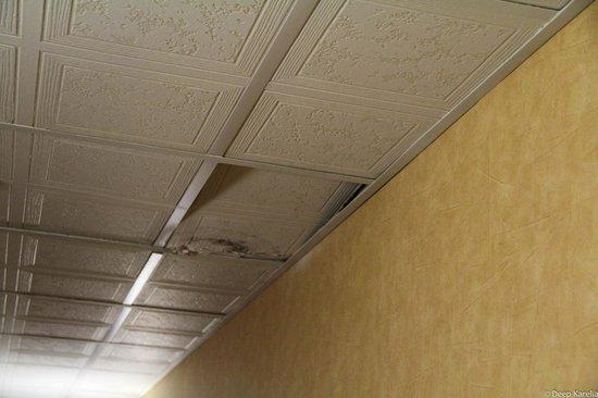 Comfort Inn : Water leaking in the hallway?