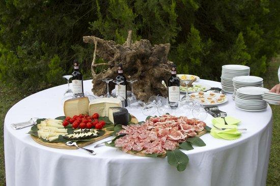 Fattoria Castelvecchi: Buffet