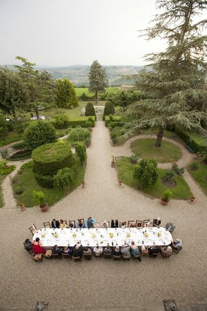 Fattoria Castelvecchi: View from a room on the second floor