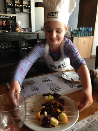 BEEF meat & wine: детский мастер-класс, BEEF