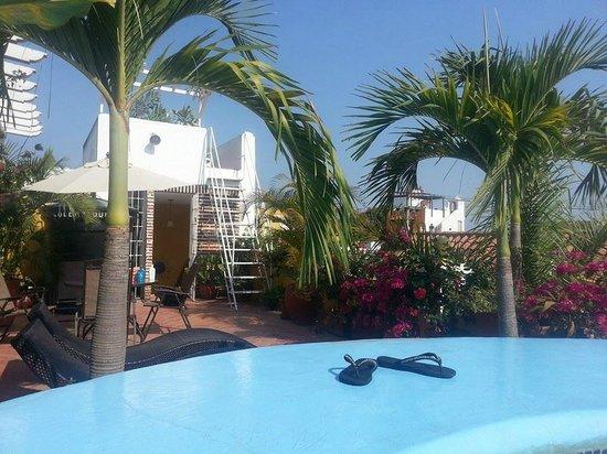 Hotel Casa Gloria: Vista desde el Jacuzzi