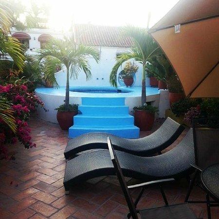 Hotel Casa Gloria: Terraza