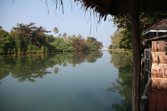 Blue Lagoon : vue de la terrasse